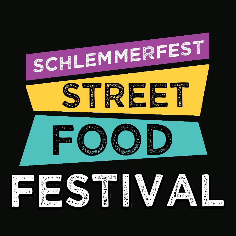 StreetFoodLogoSchlemmerfestFestivalWeiss